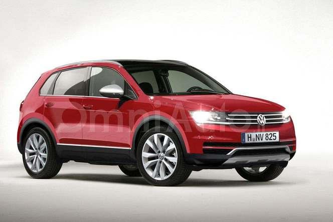 Futur Volkswagen Tiguan : comme ça ?