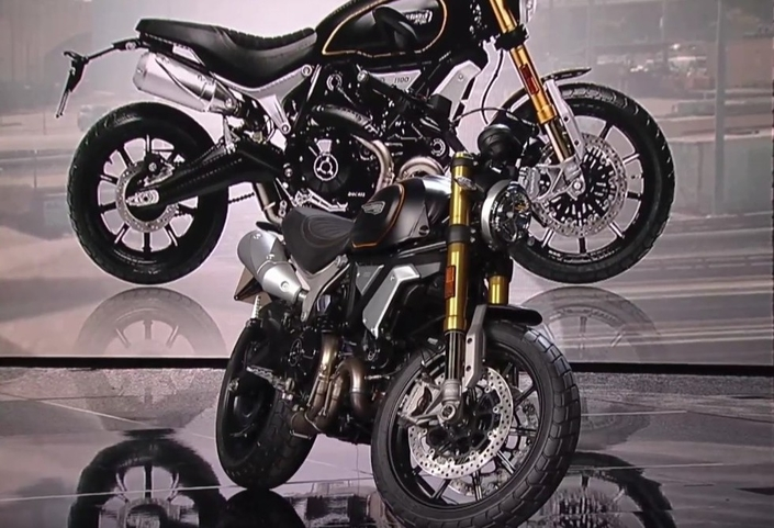 Salon de Milan 2017 en direct : Ducati Scrambler 1100