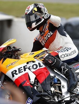 "Moto GP - Grande Bretagne Pedrosa: ""J'ai fait des erreurs"""