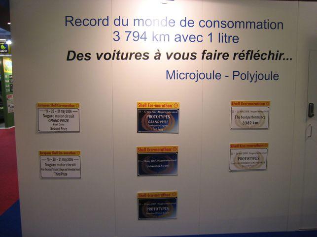 Les stars du Shell Eco-marathon Europe : Polyjoule et Microjoule