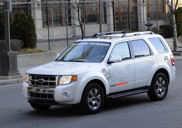 Pour les Ford Escape hybrides, les batteries lithium-ion de Johnson Controls-Saft
