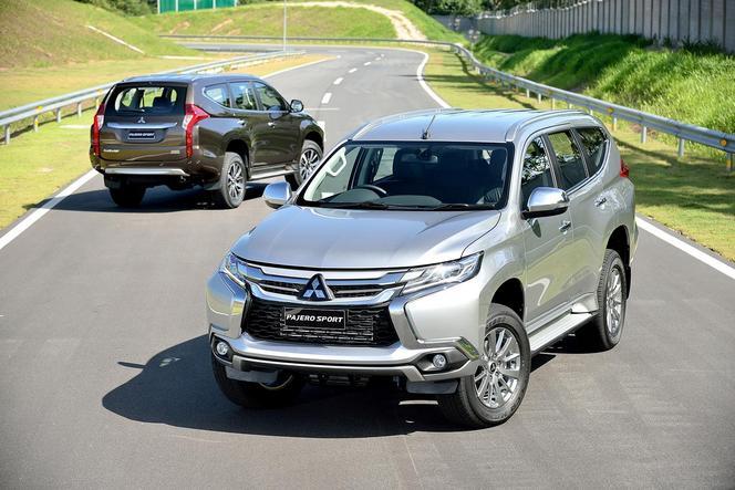 Mitsubishi Pajero Sport : officiel
