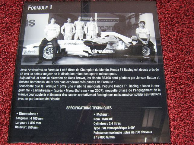 "Zoom sur le programme ""Earthdreams"" de Honda F1 Racing"
