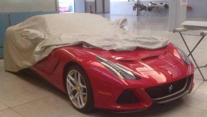 Une nouvelle Ferrari mystère