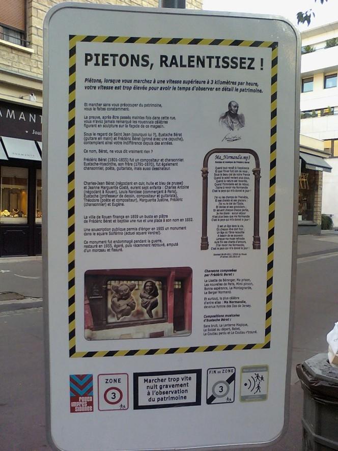 Insolite : le radar à piétons de Rouen