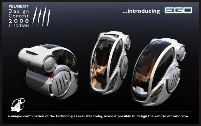 Concours de Design Peugeot 2008 : le vainqueur est le projet RD