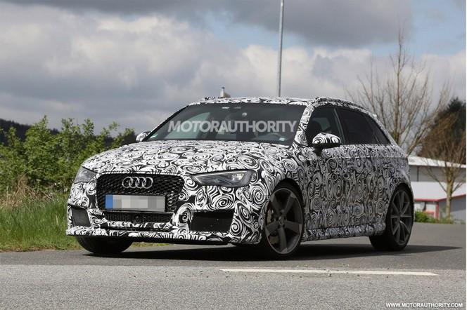 Surprise : l'Audi RS3 Sportback de sortie