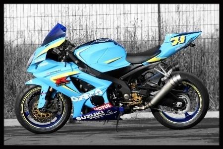 Suzuki Gsx R 1000 2008 By Orca Moto Gp Réplica