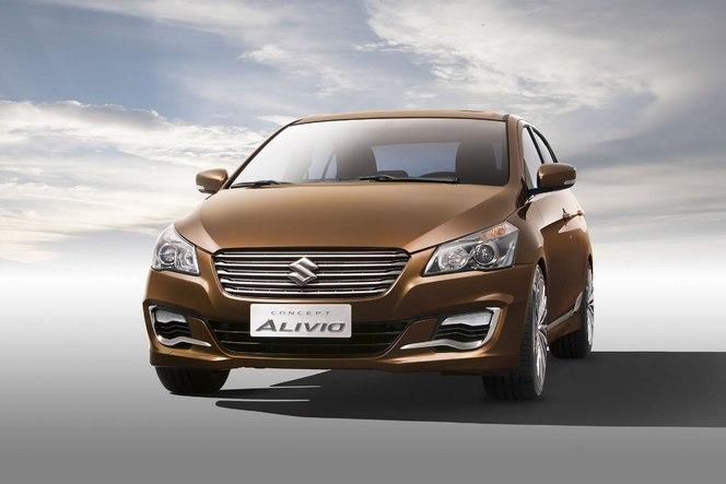 Pékin 2014 : Suzuki présente le concept Alivio