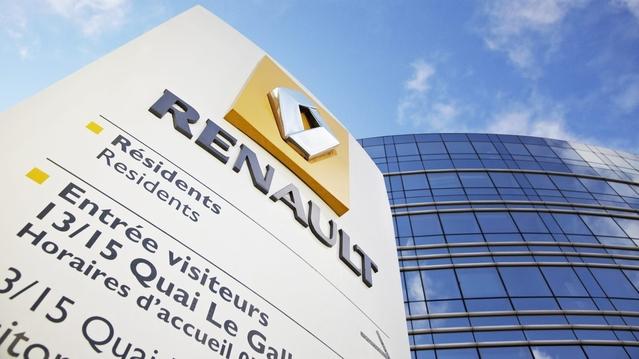 Groupe Renault : un chiffre d'affaires en hausse de 25,2 % au premier trimestre 2017