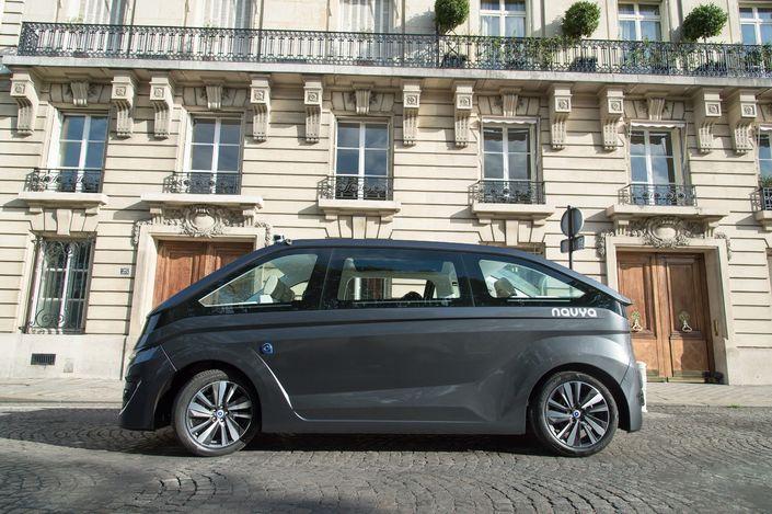L'Autonom Cab pourra embarquer jusqu'à 6 passagers installés face-à-face.