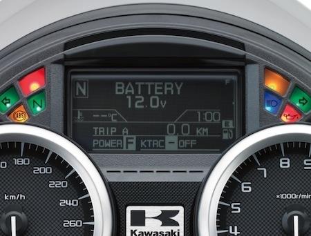 Kawasaki ZZR1400 2016: mise aux normes Euro4
