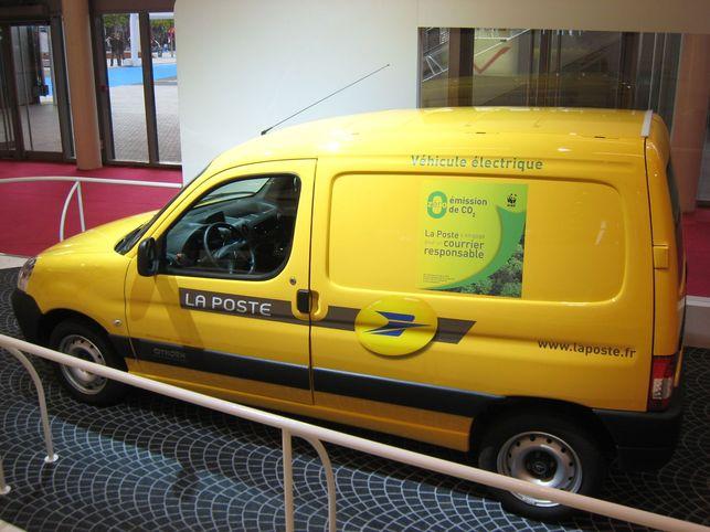 La Poste charmée par le Citroën Berlingo électrique