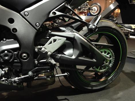 Salon de Milan 2017 en direct : Kawasaki ZX-10 R SE
