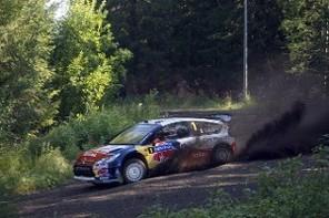 WRC Finlande Jour 1 : Hirvonen et Loeb séparés de 4s