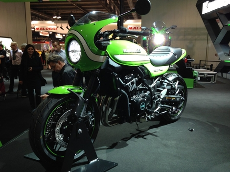 Salon de Milan 2017 en direct : Kawasaki Z 900 RS Cafe