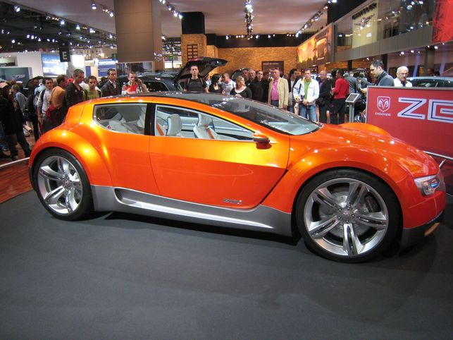 Lumière sur le Dodge Zeo Concept