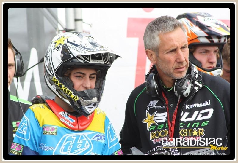 GP d'Allemagne - Teutschenthal - 125 : Jason Clermont stoppe la moisson de Tixier