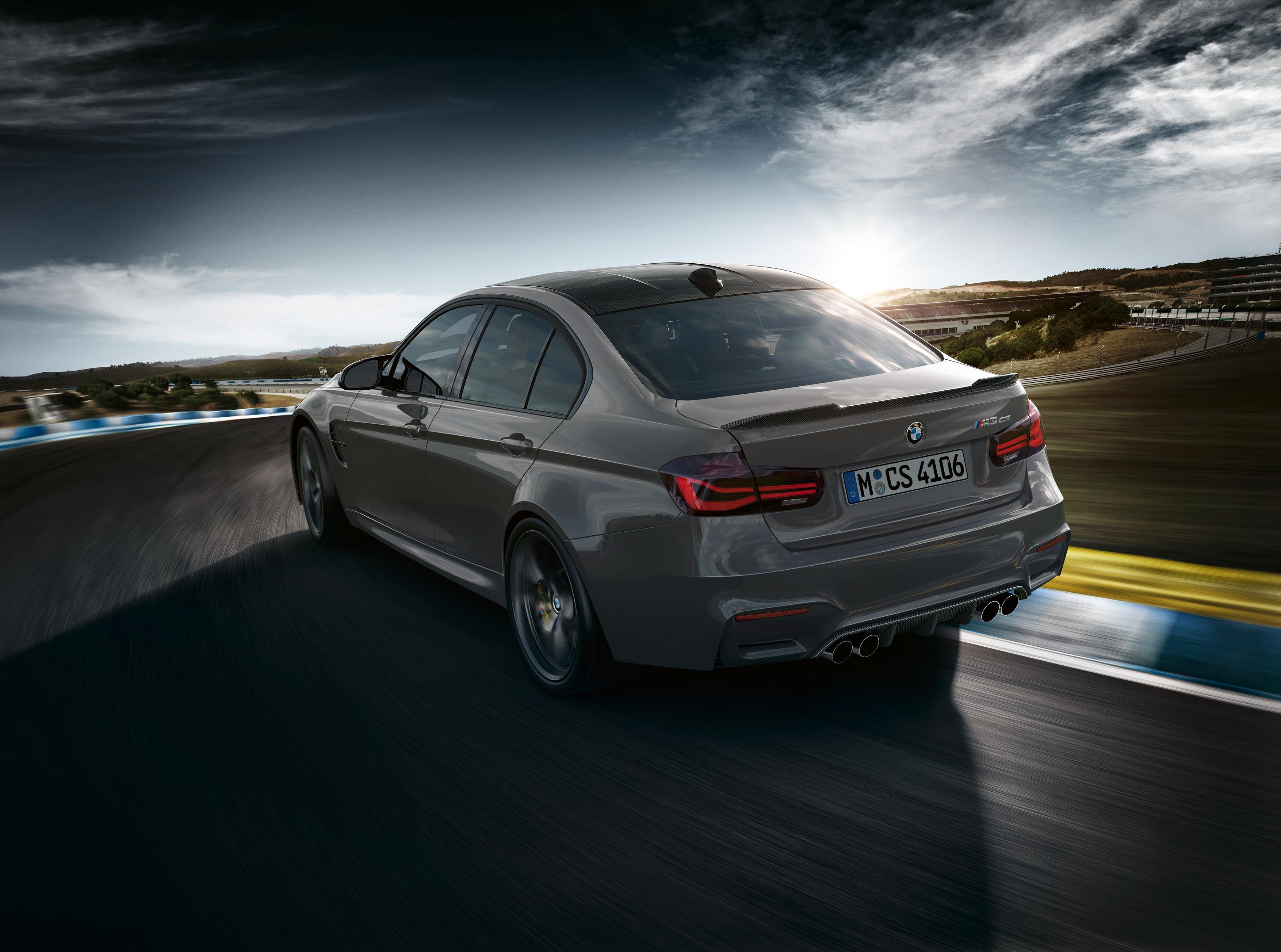 BMW dévoile la M3 CS