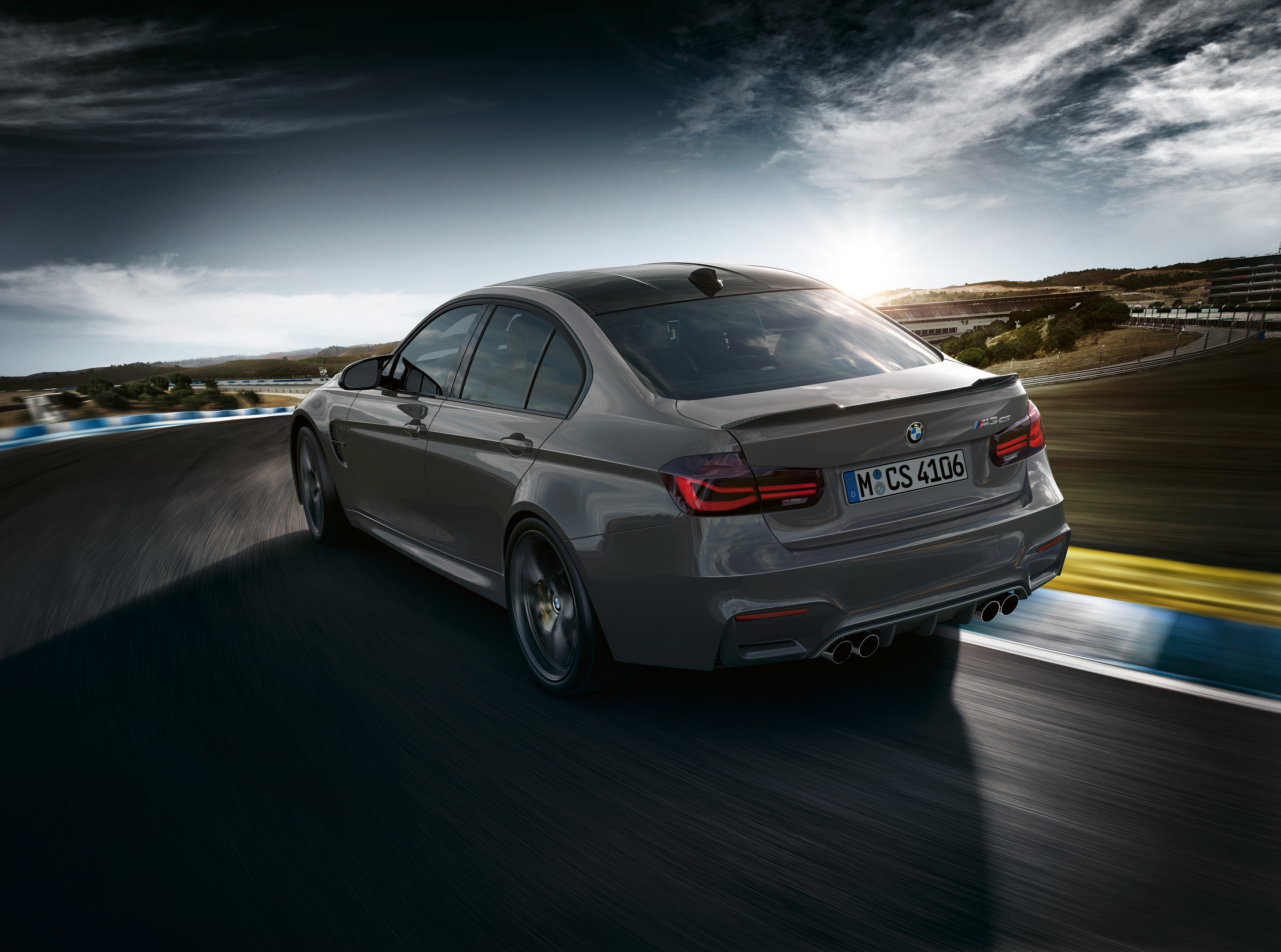 Vidéo : la BMW M3 CS prend vie !