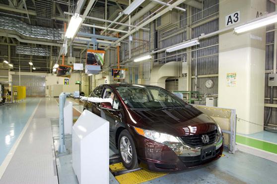 Honda démarre la production de la FCX Clarity à l'hydrogène !