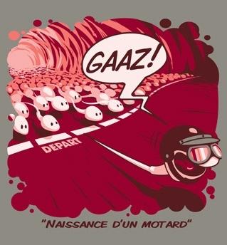 Tee-shirt Gaaz: du nouveau au plus proche de l'actualité...