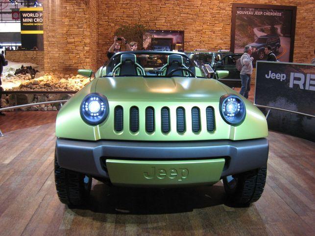 Un 4x4 voit la vie en vert : le Concept Jeep Renegade