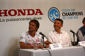 Un partenariat environnemental entre Champions de l'air pur, Honda Canada et Honda Racing F1