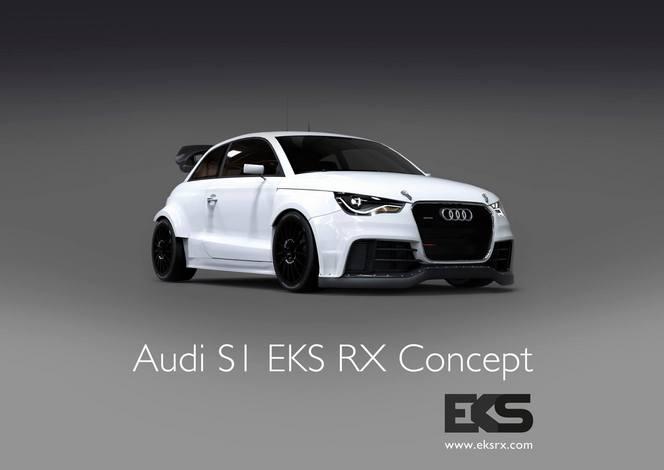 Le constructeur premium Audi soutient un projet de S1 en Rallycross!