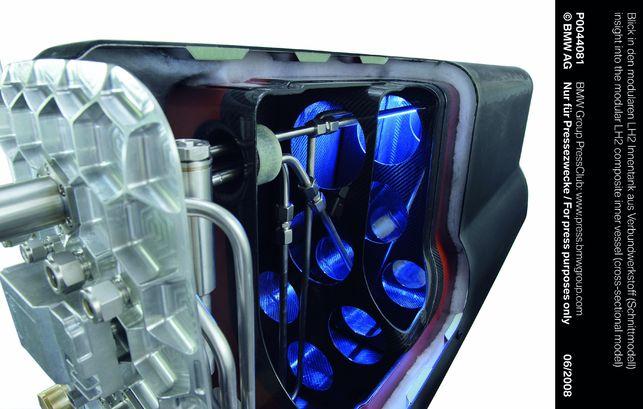 BMW veut révolutionner le stockage de l'hydrogène