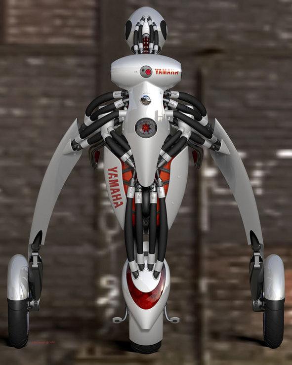 La moto robot-humaine du futur : la Deus Ex Machina Yamaha !
