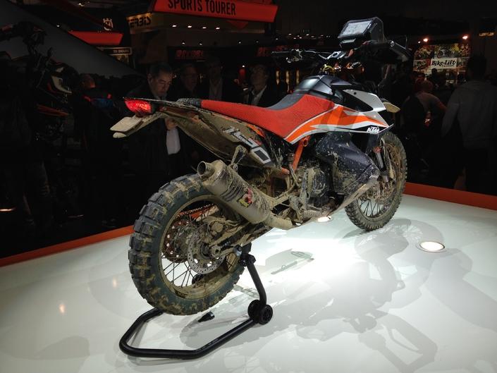 Salon de Milan 2017 en direct: KTM 790 Adventure R Prototype