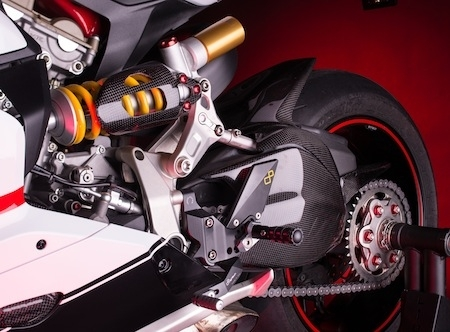 Lightech et la Ducati Panigale