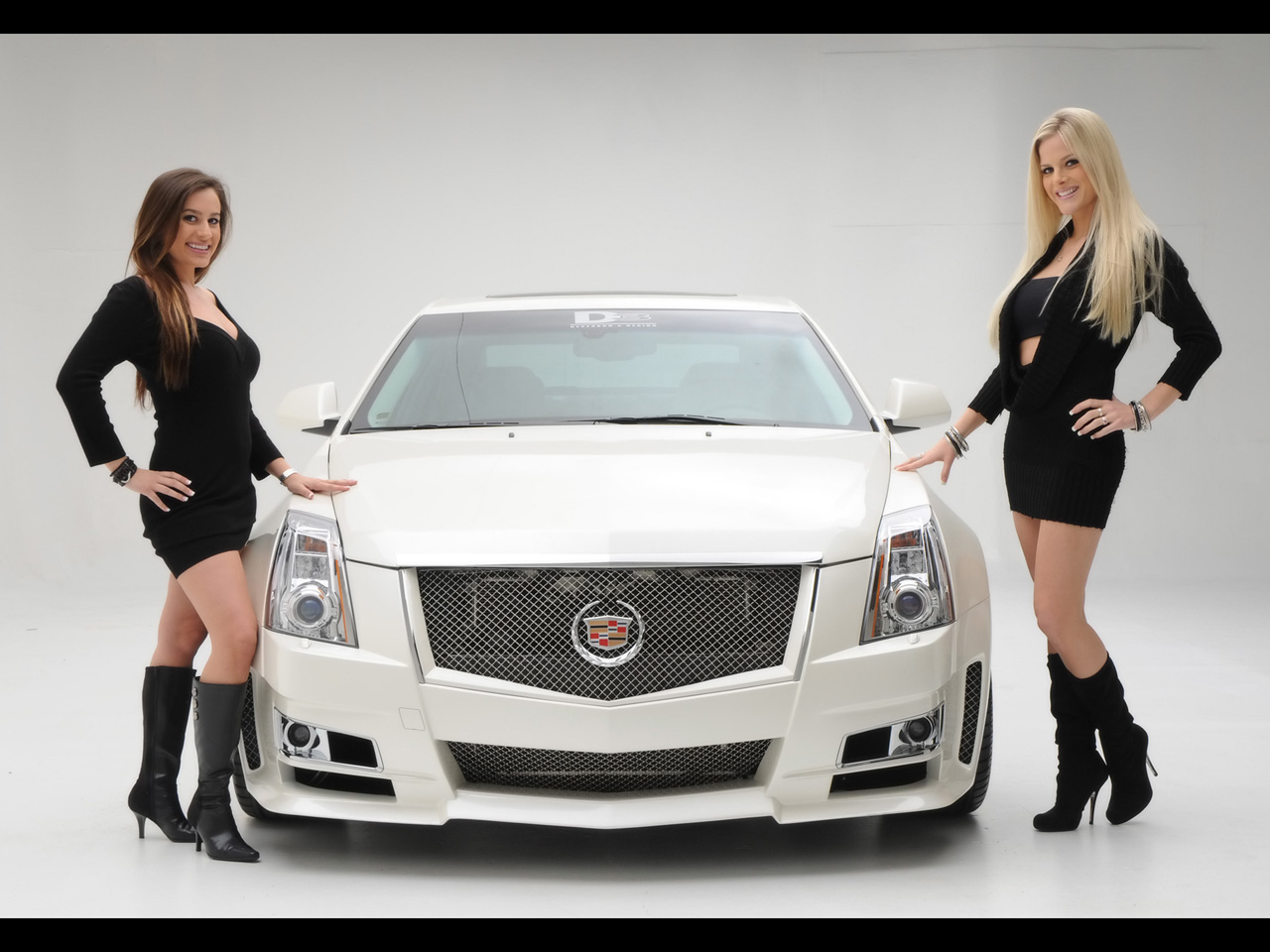 D3 Cadillac Cts Merci Les Girls