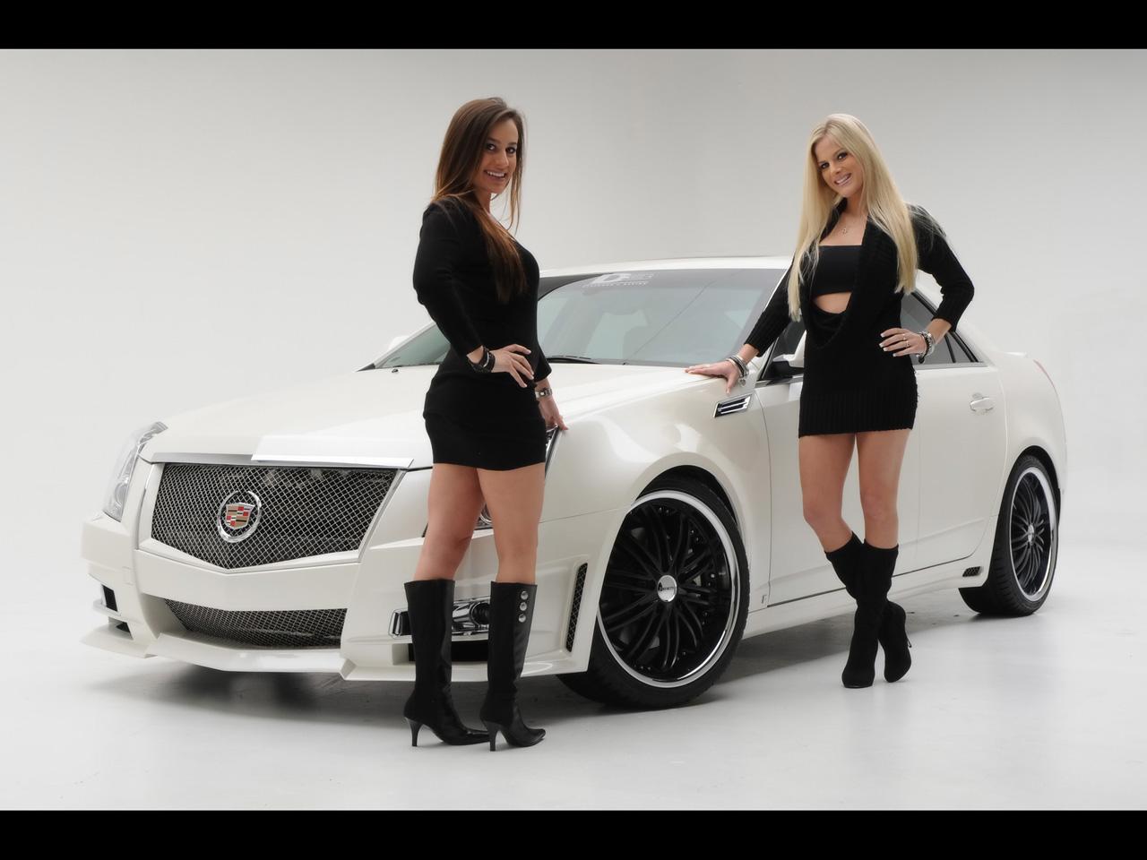 D3 Cadillac Cts Merci Les Girls