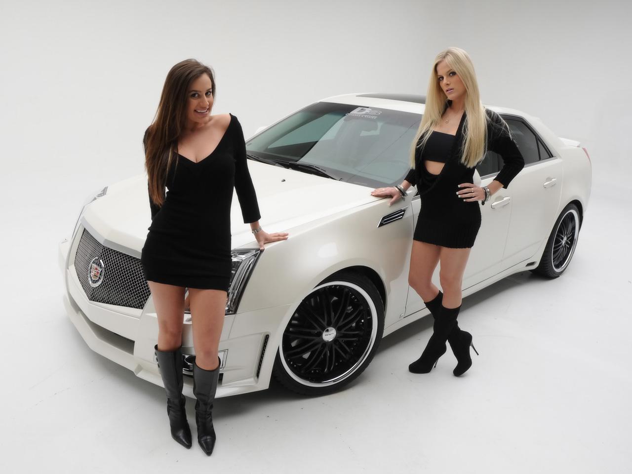 Ats Vs Cts >> D3 Cadillac CTS: merci les girls...
