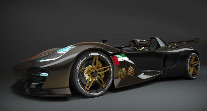 Futur Dubai Roadster: 750 kg et 400 ch