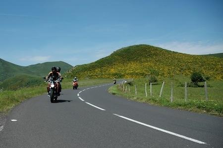 Balade moto: l'Auvergne façon grande boucle...