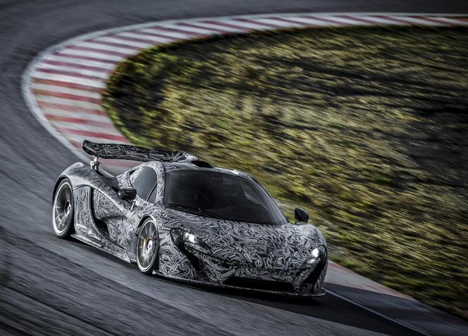 McLaren P1 : le prototype se découvre officiellement
