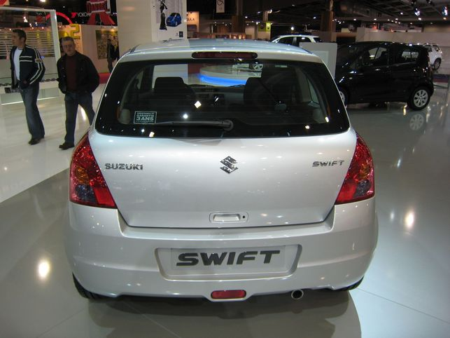 La Suzuki Swift au rendez-vous
