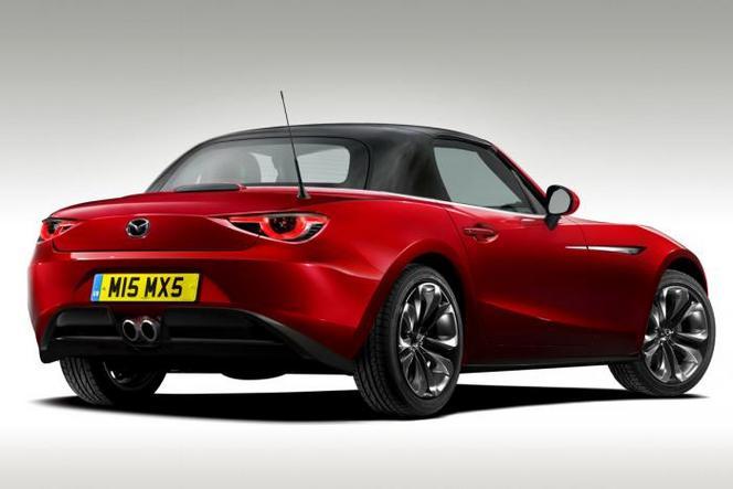 Nouvelle Mazda MX-5 : comme ça ?