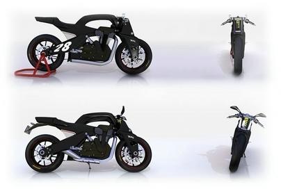 """Arron Rogers nous livre son """"Concept  Bike"""" : la Norton M28"""