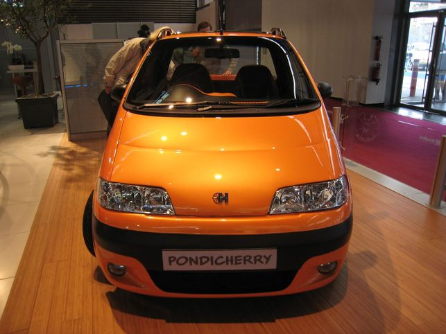 Un pick-up de loisirs électrique : le Pondicherry, mi-indien mi-français