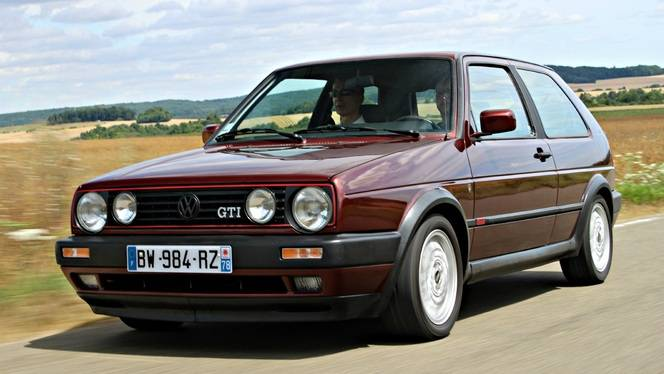 vid o volkswagen golf 2 gti l 39 autre gti d s. Black Bedroom Furniture Sets. Home Design Ideas