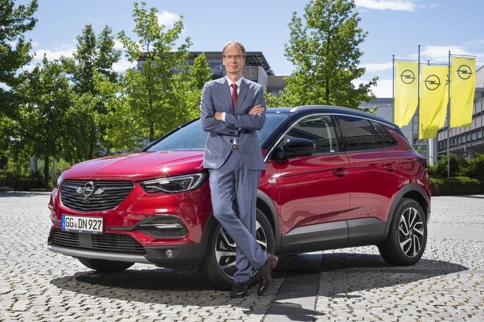 Michael Lohscheller, le patron d'Opel