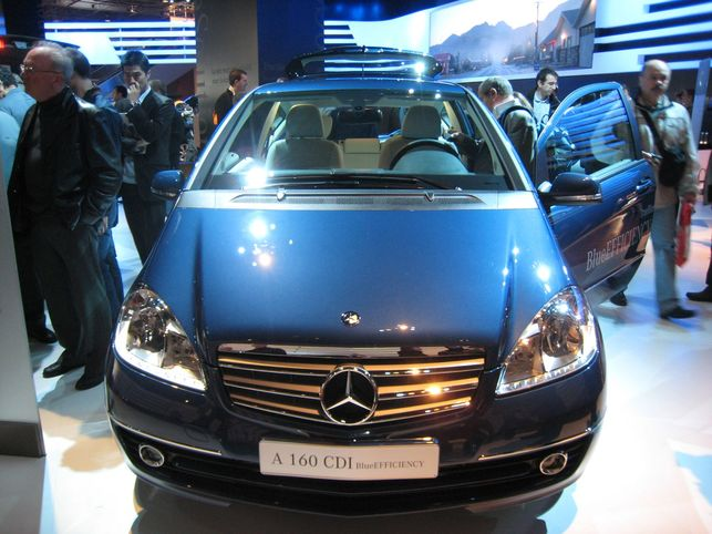La Mercedes A160 CDI BlueEFFICIENCY ? 117 g CO2/km