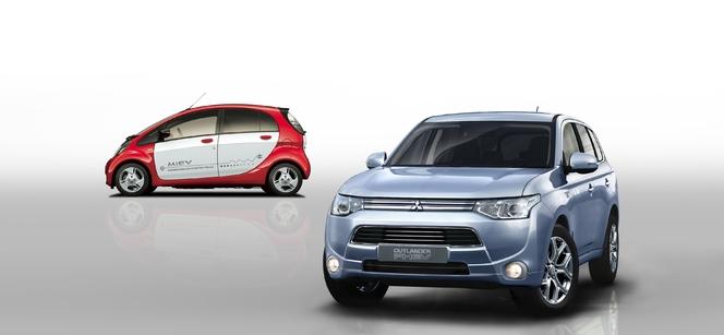 Genève 2013 : Mitsubishi Outlander PHEV