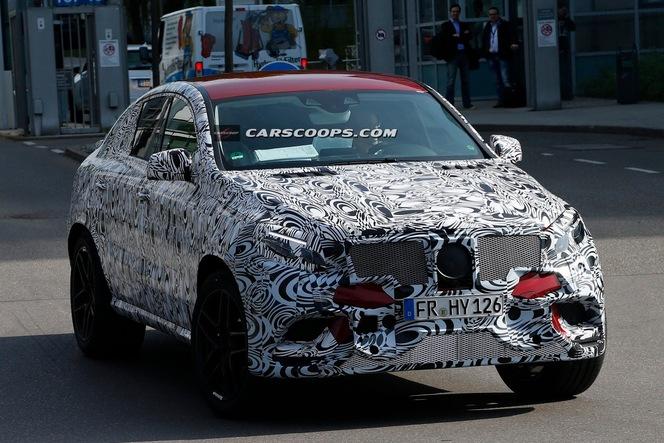 Surprise : le Coupé SUV de Mercedes déjà en série