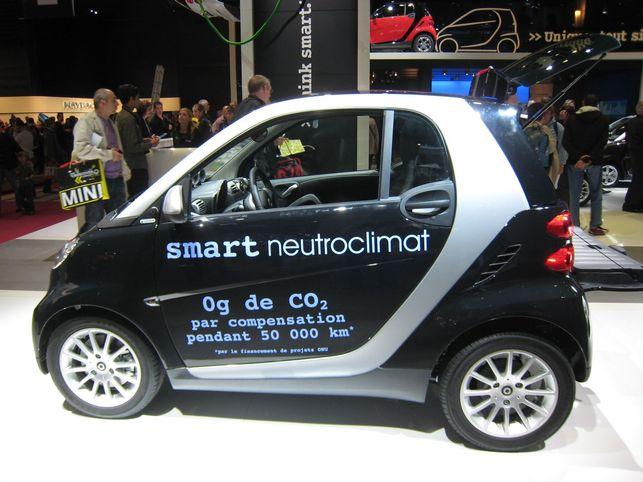 La Smart Fortwo Neutroclimat : une auto responsable et solidaire