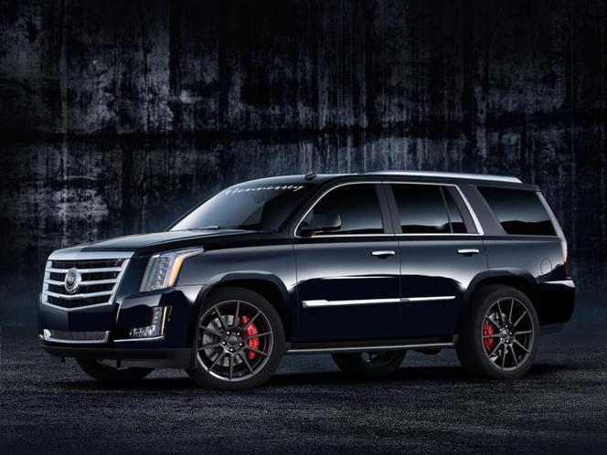 Hennessey fourre 560 ch dans un Cadillac Escalade